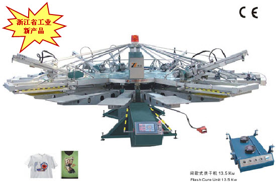 Serie YH textil automática Screen Printing Machine