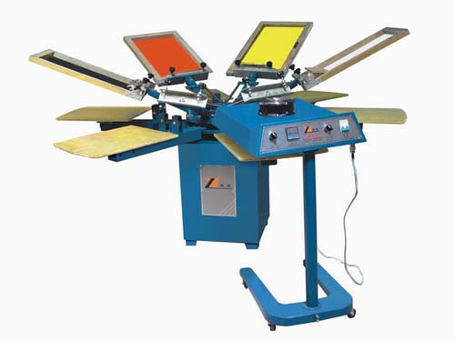 Serie SPM Textil Manual Screen Printing Machine