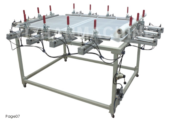 SQ Series Pneumatic Screen Stretcher